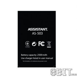 Аккумулятор Assistant AS-502 / AS-503 (2500 mAh)