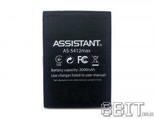 Аккумулятор Assistant AS-5412 Max (2000 mAh)